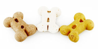 Dog biscuits Royalty Free Stock Images