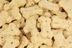 Dog Biscuits Snack Treats. Taken as Full Background stock photography