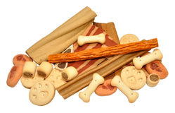 Dog Biscuits And Treats Royalty Free Stock Photo