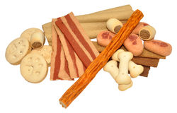 Dog Biscuits And Treats Stock Photos