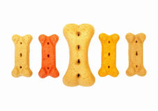 Dog bone biscuits Royalty Free Stock Photography