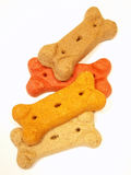 Dog bone biscuits royalty free stock images