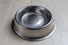 Dog bowl with water Royalty Free Stock Image