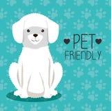 Dog bred pet friendly. Vector illustration design vector illustration