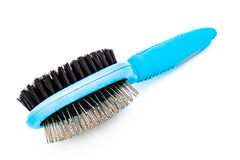 Dog brush Royalty Free Stock Images