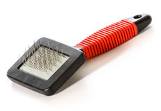 Dog brush Stock Photo