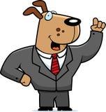Dog Businessman Stock Photos