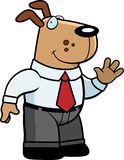 Dog Businessman Royalty Free Stock Photo