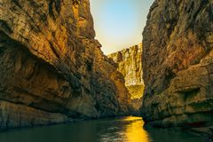 Dog Canyon At Big Bend National Park in Texas. Big Bend National Park in Texas featuring Dog Canyon. There is a two mile hike to Dog Canyon featuring numerous royalty free stock photos