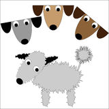 Dog Cartoon Royalty Free Stock Images