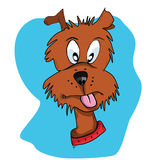 Dog cartoon Stock Photography