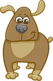 Dog cartoon character Stock Images