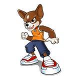 Dog cartoon.vector dog.chihuahua cartoon. Stock Image