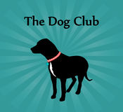 The Dog Club Sign Royalty Free Stock Photo
