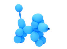Dog created with balloon Royalty Free Stock Photo