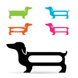 Dog design Stock Photography