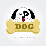 Dog design Royalty Free Stock Photo