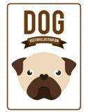 Dog design. Dog grafic   design , vector illustration Stock Photo