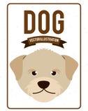 Dog design. Dog grafic   design , vector illustration Royalty Free Stock Images