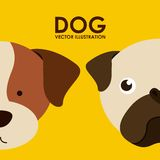 Dog design Royalty Free Stock Image