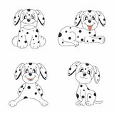 Dog design set Royalty Free Stock Photos