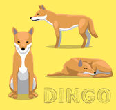 Dog Dingo Cartoon Vector Illustration. Animal Cartoon EPS10 File Format Royalty Free Stock Photo