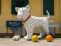 Dog Doll. UBON RATCHATHANI, THAILAND - July 14: Temple Thailand Stock Photography