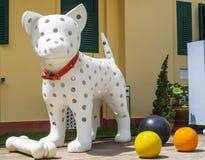 Dog Doll. UBON RATCHATHANI, THAILAND - July 14: Temple Thailand Stock Images