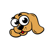 Dog face sign Royalty Free Stock Photography