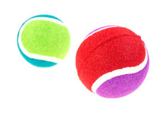 Dog fetch balls Royalty Free Stock Image