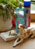 Dog figurine. Stock Photos