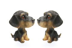 Dog Figurines Stock Photography