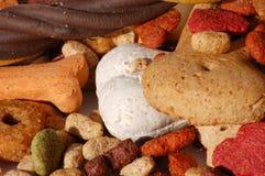 Dog food. The dog food, close up stock image