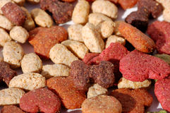 Dog food. The dog food, close up Royalty Free Stock Photo