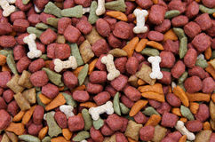Dog food background Royalty Free Stock Images