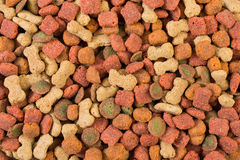 Dog food background Stock Photo