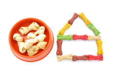 Animal treats for dogs Stock Images