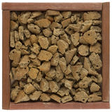 Dog food in box Royalty Free Stock Images