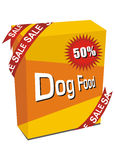 Dog food illustration Royalty Free Stock Photos