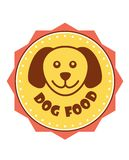 Dog Food label Royalty Free Stock Images