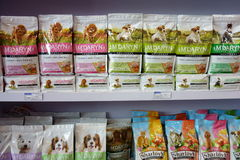 Dog food. In the market, in Chendu,China royalty free stock photography