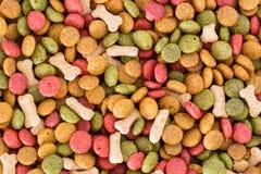 Dog food pellets Stock Image