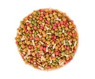 Dog food pellets Royalty Free Stock Image