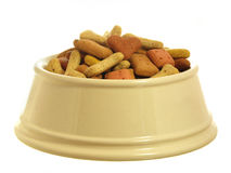 Dog food series Stock Photo