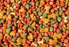 Dog food tablet Stock Image