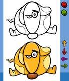 Dog game character cartoon illustration Royalty Free Stock Photo