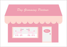 Dog Grooming Shop / Parlour Stock Photography