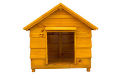 Dog house . Dog house is made of wood Royalty Free Stock Photo