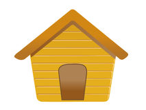 Dog House. It's a small dog house Royalty Free Stock Images