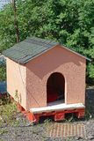 Dog house. With facade and roof Stock Image